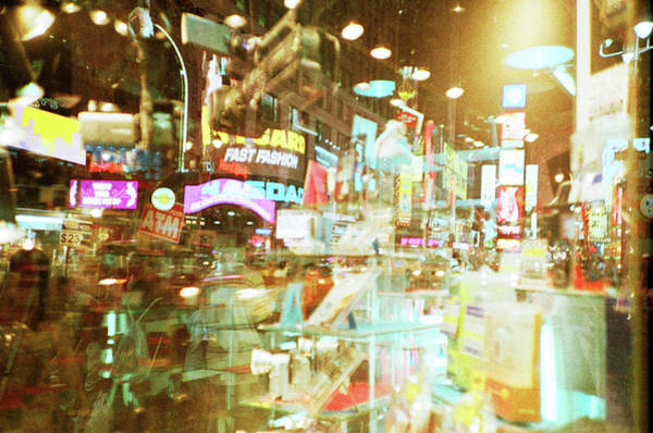 Multi Exposure Photograph - Time Square At Night by Eyetwist / Kevin Balluff