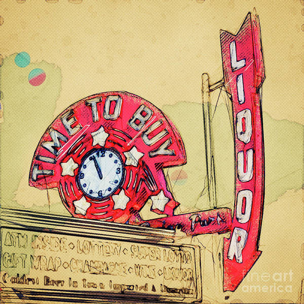 Wall Art - Photograph - Time To Buy by Lenore Locken