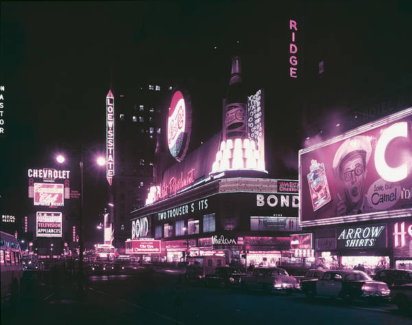Wall Art - Photograph - Times Square by Archive Photos