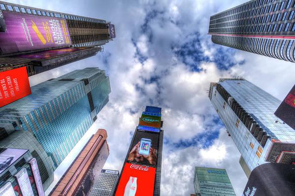Wall Art - Photograph - Times Square Heaven by David Pyatt