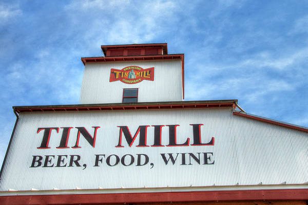 Photograph - Tin Mill Brewery by Steve Stuller