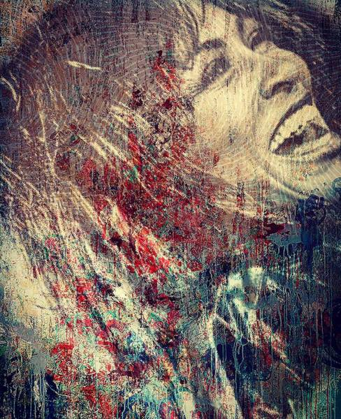 Mixed Media - Tina Turner Spirit  by Jayime Jean