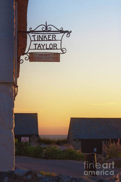 Sennen Cove Photograph - Tinker Taylor Sign by Terri Waters
