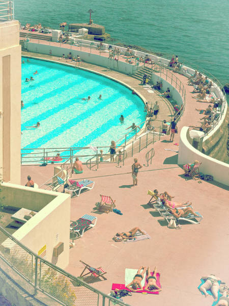 Photograph - Tinside Lido  by Doug Matthews