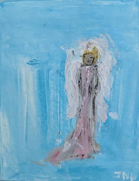 Painting - Tiny Angel by Jennifer Nease