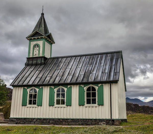 Photograph - Tiny Church Of Iceland by David Letts