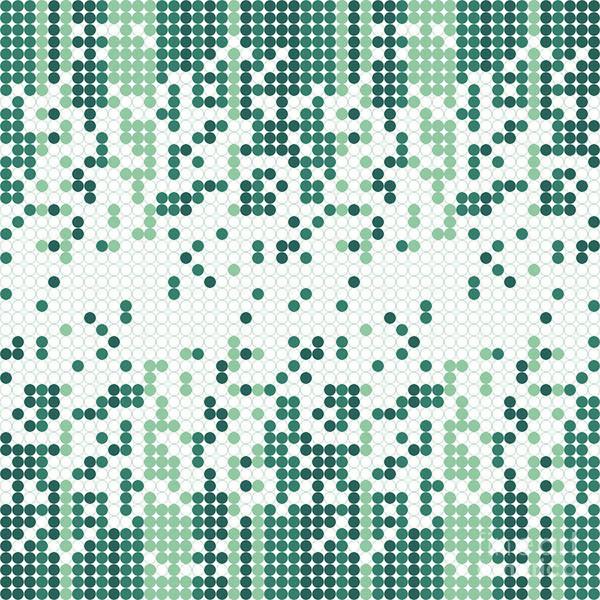 Wall Art - Digital Art - Tiny Circles Gradient by Gaspar Avila