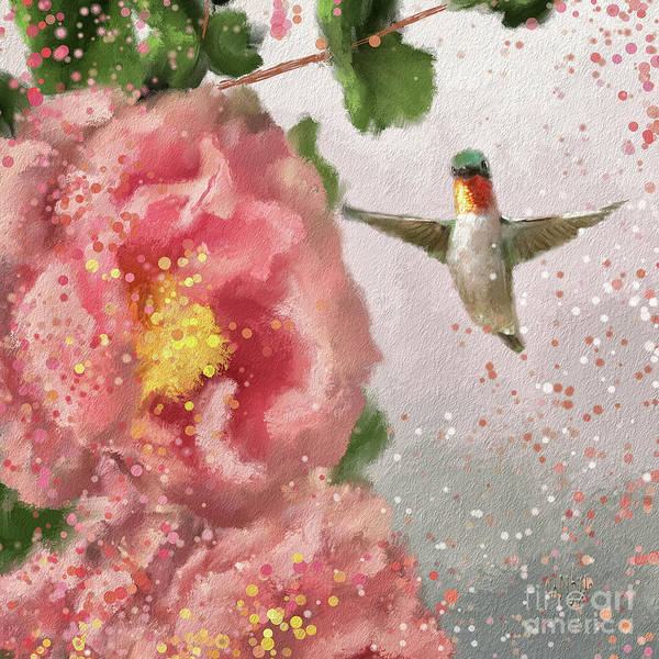 Digital Art - Tiny Dancer by Lois Bryan