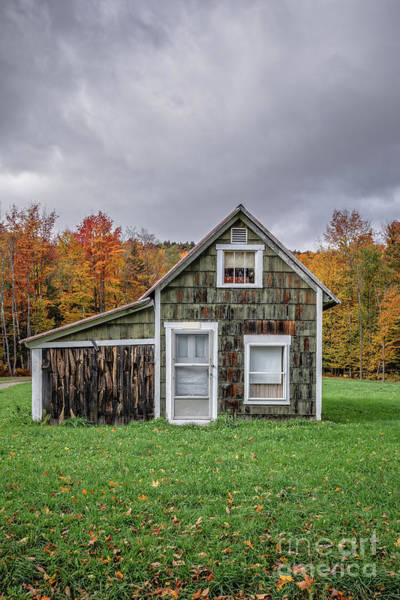 Wall Art - Photograph - Tiny House Vermont by Edward Fielding