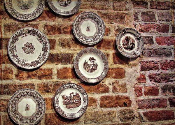 Photograph - Tiole Plates by JAMART Photography