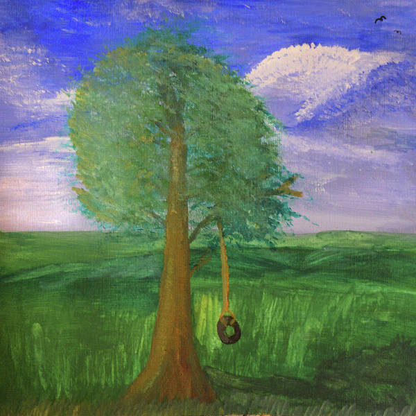 Painting - Tire Swing by Chance Kafka