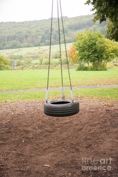 Photograph - Tire Swing by Juli Scalzi