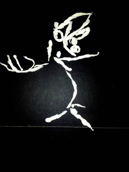 Sculpture - Tissue Paper Saga 4 by Artist Dot