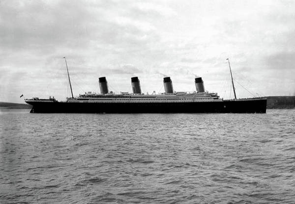 Photograph - Titanic Leaving Southampton by Doc Braham