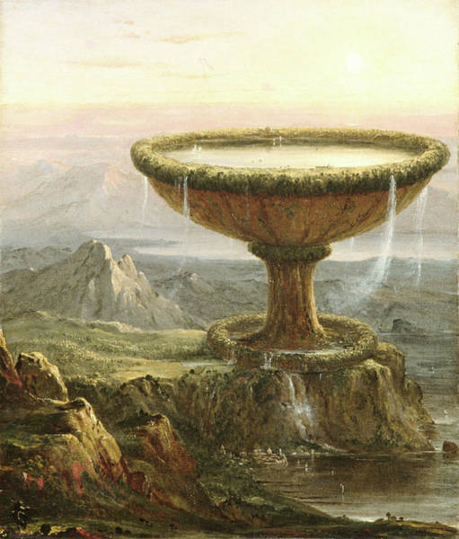 Painting - Titan's Goblet  by Thomas Cole