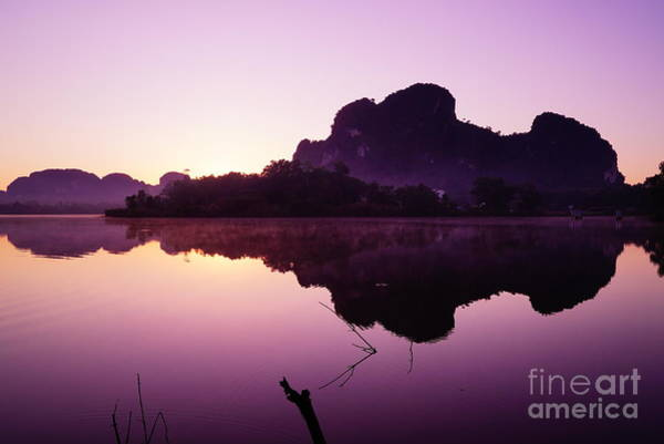Wall Art - Photograph - Title  The Peaceful Mountain by Pk Kaew