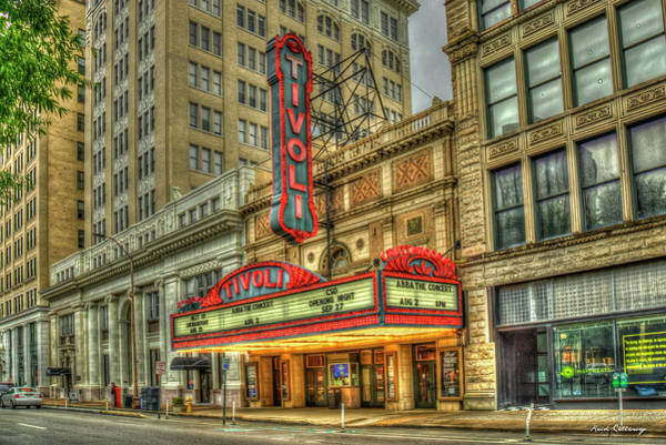 Photograph - Tivoli Theatre 7 The Jewel Of The South Chattanooga Tennessee Art  by Reid Callaway