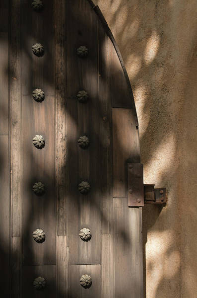 Photograph - Tlaquepaque Door 8455-101917-1cr by Tam Ryan