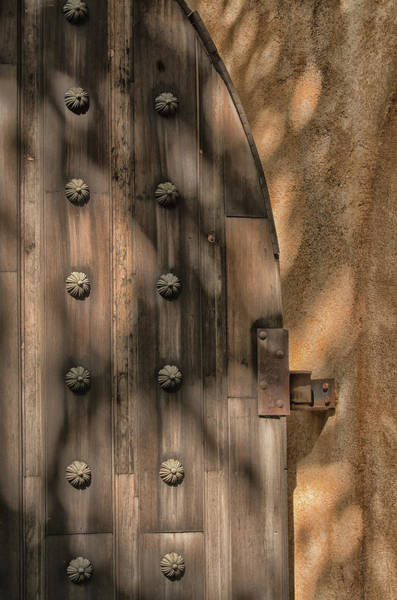 Photograph - Tlaquepaque Door 8455-101917-2cr by Tam Ryan