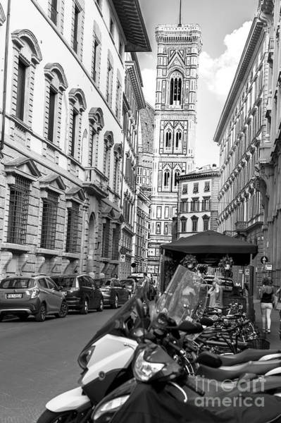 Photograph - To Giotto's Campanile In Florence by John Rizzuto