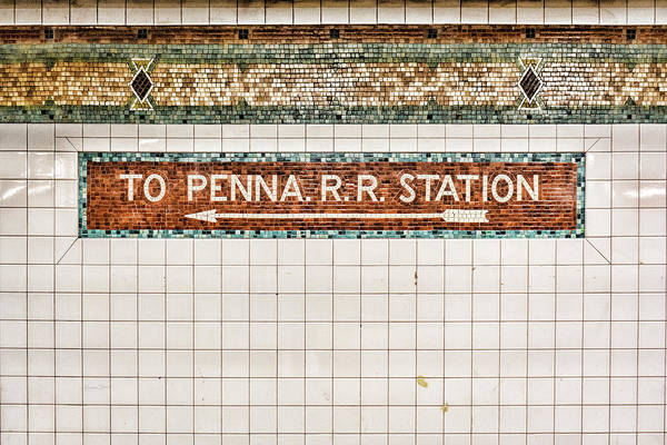 Photograph - To Penna Rr Station by Sharon Popek