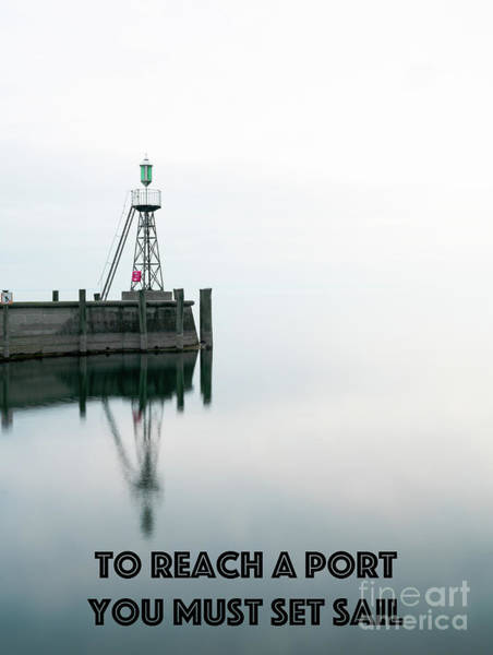 Wall Art - Photograph - To Reach A Port by DiFigiano Photography