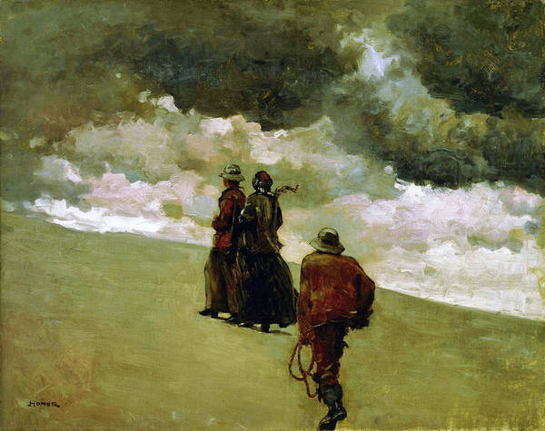 Blast Wave Wall Art - Painting - To The Rescue - Digital Remastered Edition by Winslow Homer