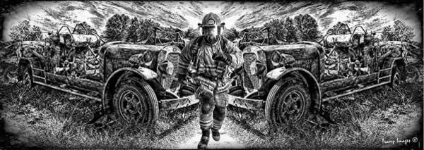 Digital Art - To The Rescue by Wesley Nesbitt