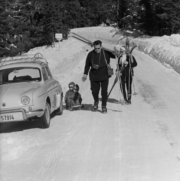Lillehammer Photograph - To The Slopes by George Freston