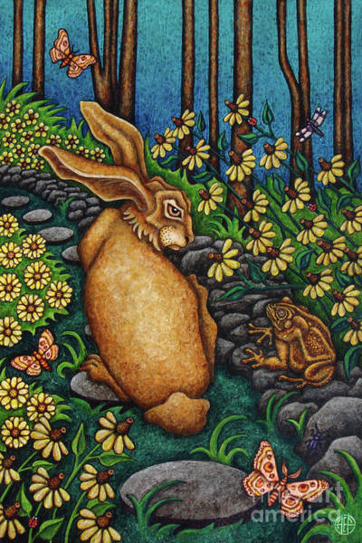 Painting - Toad's Transgression by Amy E Fraser