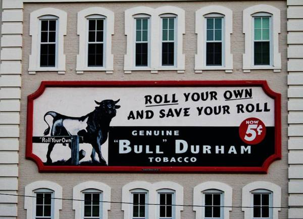 Photograph - Tobacco Sign by Cynthia Guinn