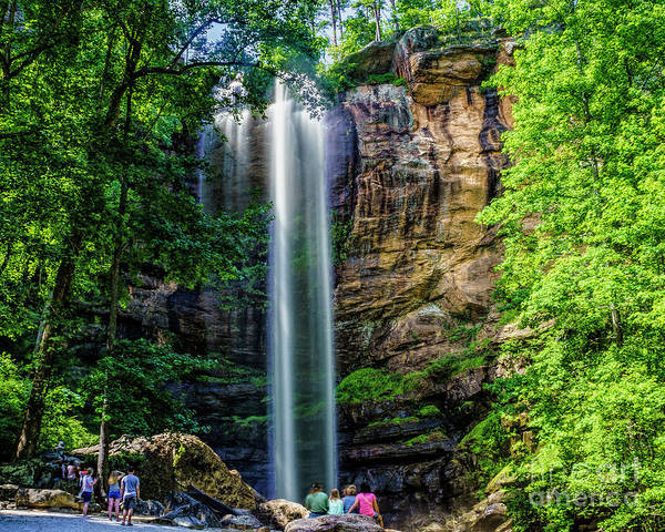 Photograph - Toccoa Falls Georgia by Nick Zelinsky
