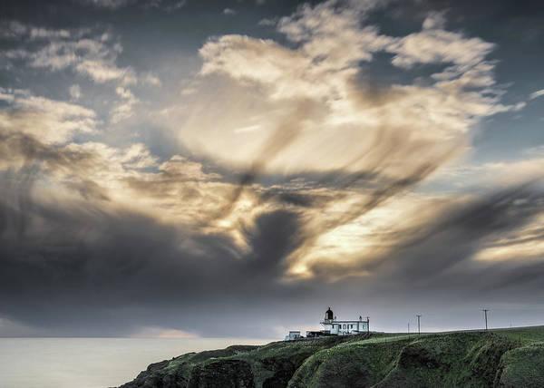 Photograph - Tod Head Sunrise by Dave Bowman