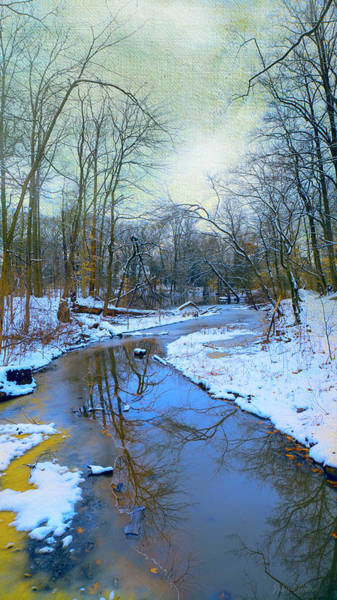 Photograph - Today's Snow by John Rivera