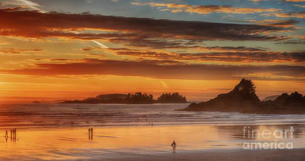 Pyrography - Tofino Beach Sunset 1 by Mauro Celotti