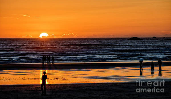 Photograph - Tofino Sunset 1 by Mauro Celotti