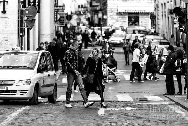Photograph - Together In Roma by John Rizzuto