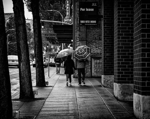 Photograph - Together Rain Or Shine by Steven Clark