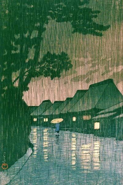 Wall Art - Painting - Tokaido Maekawa - Top Quality Image Edition by Kawase Hasui