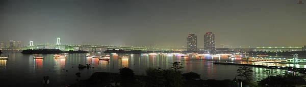 Wall Art - Photograph - Tokyo Bay Panorama by (c) José Manuel Segura (@ungatonipon)