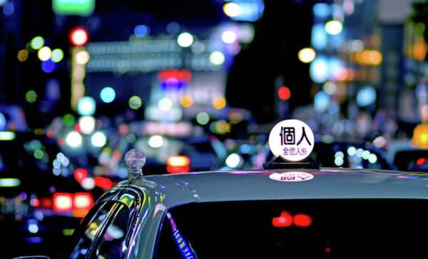 Japanese Culture Photograph - Tokyo Cab by Fabio Sabatini