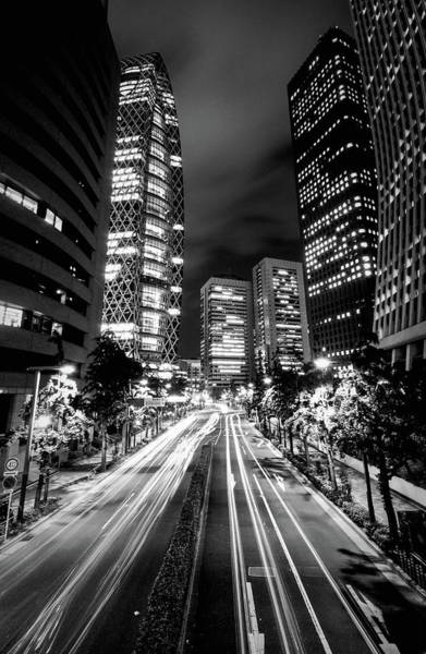 Side-by-side Photograph - Tokyo City At Night by @ Didier Marti