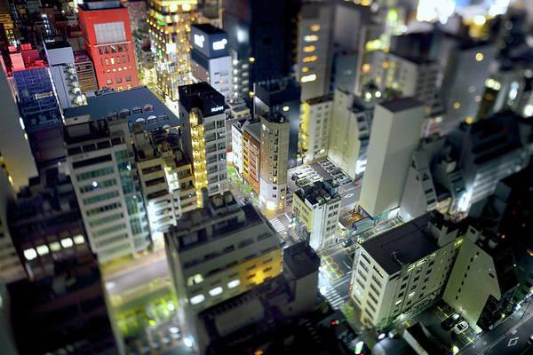 Ginza Wall Art - Photograph - Tokyo Ginza View by Vladimir Zakharov