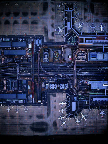 Wall Art - Photograph - Tokyo International Airporthaneda by Michael H