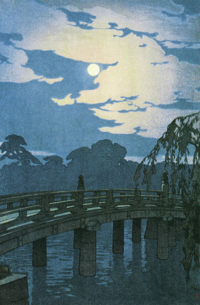 Wall Art - Painting - Tokyo Junidai, Hirakawa Bridge - Digital Remastered Edition by Yoshida Hiroshi