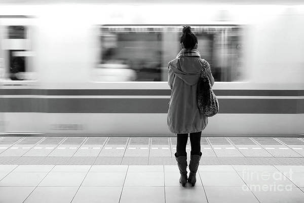 Wall Art - Photograph - Tokyo Metro by Delphimages Photo Creations