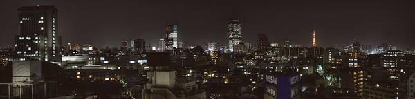 Wall Art - Photograph - Tokyo Skyline by Chris Jongkind