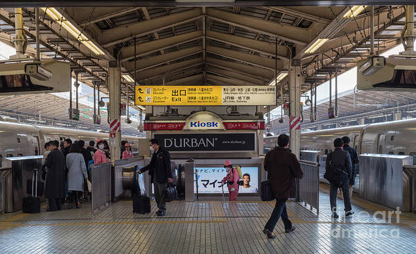 Art Print featuring the photograph Tokyo To Kyoto Bullet Train, Japan 2 by Perry Rodriguez