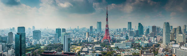 Wall Art - Photograph - Tokyo Tower Futuristic Skyscraper by Fotovoyager