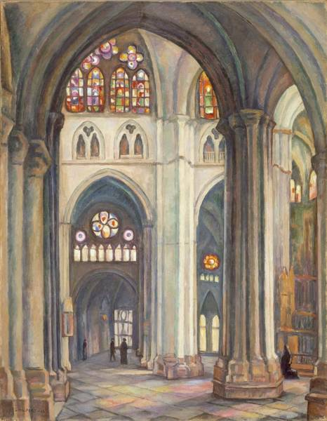 Toledo Painting - Toledo Cathedral by MotionAge Designs